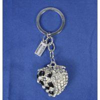 昆明金属皮质钥匙扣订做大理二维码钥匙扣制作工厂