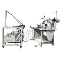 全自动厚料皮革对折缝合机/工业缝纫机/自动对折机13915721602