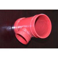 潍坊设计三通类沟槽管件的厂|潍坊宇昊管业有限公司。