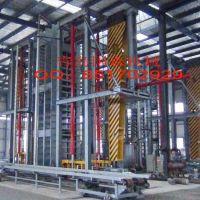 供应国森机械制造高精度重组材重竹地板压机成套加工设备