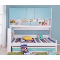 促销上下铺儿童组合床 双层子母床 儿童高箱床 儿童衣柜组合床