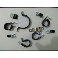 福莱通配线固定钮 配线固定夹 包胶喉箍 厂家直销