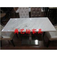 [深圳龙华伍屋村][大理石火锅桌、大理石餐桌椅、快餐厅餐桌椅定做]服务周到