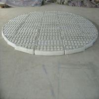 PP汽液分离器丝网除雾器定做DN300-6000 标准型聚丙烯丝网 安平上善