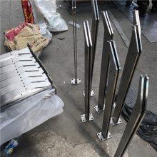 金聚进 现货 不锈钢菱形夹玻璃栏杆立柱 LD-9063不锈钢菱形立柱