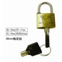 30mm梅花铜锁35十字挂锁40方叶片锁