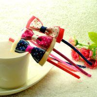韩版新款 儿童饰品发饰批发 可爱蝴蝶结星星发箍  幼儿园礼品