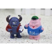 搪胶公仔 塑胶玩具 儿童玩偶 卡通玩具来图来样定做生产