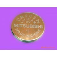 原装进口Mitsubishi三菱CR2032一次性纽扣电池