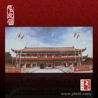 大型手绘陶瓷壁画 陶瓷壁画生产厂家