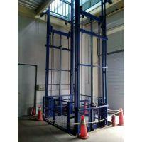 厂家推荐导轨式升降货梯 货物提升机 台面承载量大升降平稳 操作维护简单