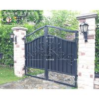 铁艺庭院门围墙门花园门锻造铁艺门大门铁艺对开门平开门系列