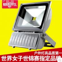 LED射灯100W广告牌射灯户外室外防水灯工程灯