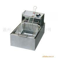 温州一喜牌6L电热式油炸锅 商用 可炸鸡腿薯条食品加工设备 直销