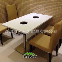供应优质大理石方形自助餐厅火锅桌全国批货 DDL26