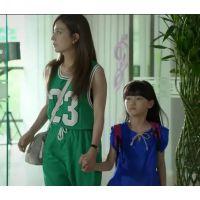 赵薇明星同款数字印花运动休闲风无袖修身背心连衣裙长裙 N56012
