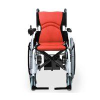 BEIZ【贝珍】6101电动轮椅车残疾老年人手自两用轻便轮椅可折叠