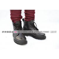3515强人男士英伦軍靴马丁靴 工装靴户外真皮軍鞋男靴子单靴XJ-01