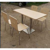 倍斯特家具厂家直销 快餐桌 肯德基快餐桌 曲木餐桌椅 西餐厅桌椅 快餐店桌椅
