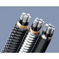无锡江南电缆AC90 铝合金自锁铠装电缆3X95 2X50平方