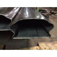 广州不锈钢梯形管,现货不锈钢楼梯扶手管,不锈钢异型管产品