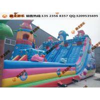 热卖大型儿童充气城堡 充气蹦蹦床 儿童滑梯 跳跳床厂家游乐设施