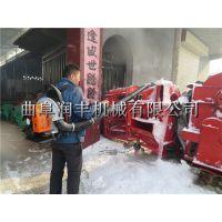 环卫用落叶清理机 润丰 汽油背负式吹雪机
