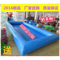 充气水池过了夏季还能经营生意 小型充气水池一池两用 想在郑州买充气泳池去哪买