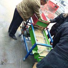 移动式粮食筛选机 种子杂物筛分机 油菜玉米过筛振动分选机