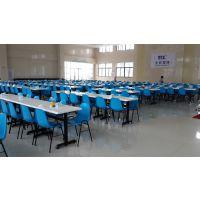 漳州市 龙海市四人连体玻璃钢餐桌,漳浦县学校食堂桌椅