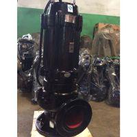 wq型排污泵 提升泵50mm口径 废水排除装置 潜污泵自耦安装可配套