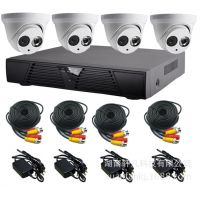 安防监控设备 高清监控摄像机 4路智能网络集成系统  安防产品