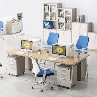 办公家具屏风办公桌简约现代四人职员工作卡位时尚电脑桌