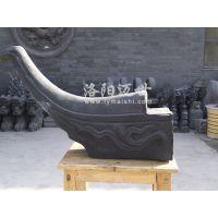 翘角-青灰瓦 ——洛阳迈世陶瓷