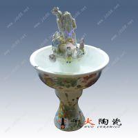 千火陶瓷 景德镇流水陶瓷加湿器