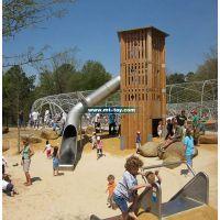 2016牧童专业生产不锈钢滑梯、儿童乐园滑梯、户外不锈钢游乐设施厂家定做
