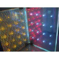 供应幻彩玻璃 雾化玻璃 LED发光玻璃 全彩玻璃