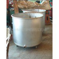 供应手推式化工设备不锈钢拉缸 分散机专用储罐拉缸 化工设备配件