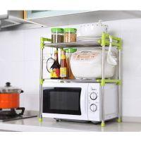 批发家用置物架 不锈钢厨房伸缩微波炉架 多功能置物架 厂家直销