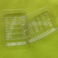 广东深圳平湖1914 PET 蔬菜塑料托盘 水果塑胶盒 生鲜塑料透明盒