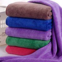 【厂家直销】加厚干发巾 速干吸水超细纤维毛巾