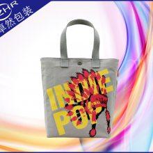 出口日本韩国全棉帆布袋 符合当地检测标准加厚棉带手提帆布打叉环保广告袋