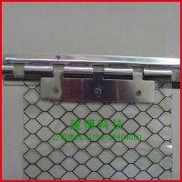 厂家直销 防静电窗帘 pvc透明网格门帘优质防静电软帘1.0