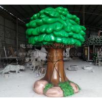 玻璃钢树雕塑 仿风筝造型树雕塑
