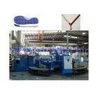 Double Colors Outsole Shoe Making Machine For PVC / TPR / TR Sole