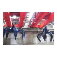 液压抓斗工作原理及与机械抓斗的区别 中原品牌QZ型桥式起重机价格 抓斗式龙门吊