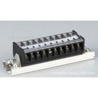 TD接线排 TD-10010导轨组合式接线板 100A端子板 支持定做