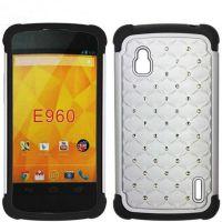 厂家直供 E960点钻手机保护套 满天星三合一手机壳批发 手机壳!