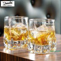 比利时啤酒杯进口威士忌杯古典杯烈酒吞杯白酒甜品杯水杯设计新颖