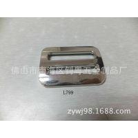 L799五金厂家 箱包配件 锌合金扣 针扣 日字扣